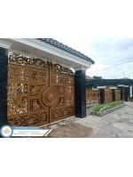 Công trình cổng nhôm đúc An Giang