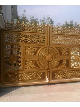 Công trình cổng nhôm đúc Bình Phước