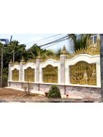 Công trình nhôm đúc thực tế tại Bình Phước