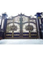 Công trình nhôm đúc biệt thự Bình Tân HCM